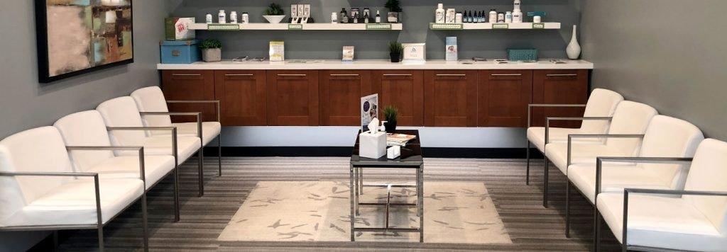 west jordan clinic lobby